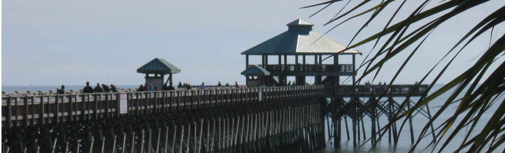 Pier @ Folly Beach, South Carolina